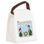 SCUBA Canvas Lunch Bag