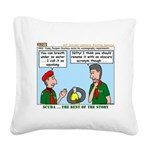 SCUBA Square Canvas Pillow