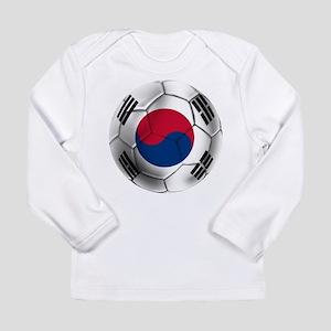 Korea Football Long Sleeve Infant T-Shirt