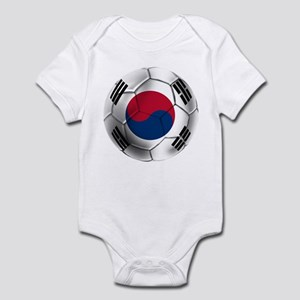 Korea Football Infant Bodysuit