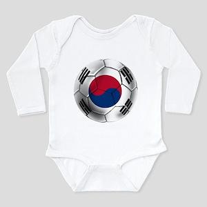 Korea Football Long Sleeve Infant Bodysuit