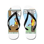 Crime Prevention Flip Flops