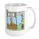 Crime Prevention Large Mug