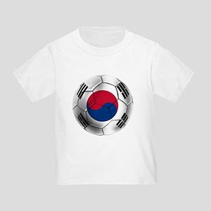 Korea Football Toddler T-Shirt