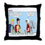 Jetpack Throw Pillow