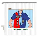 Trophy Room Shower Curtain