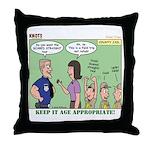 Field Trips Throw Pillow