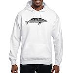 Gray Whale Hooded Sweatshirt
