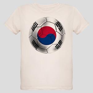 Korea Football Organic Kids T-Shirt