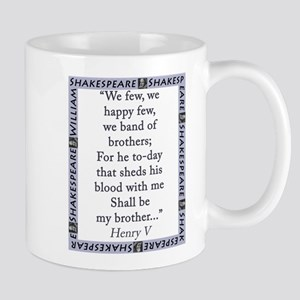 We Few, We Happy Few 11 oz Ceramic Mug