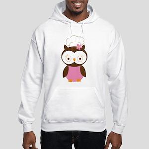 Chef Owl Baker Hooded Sweatshirt
