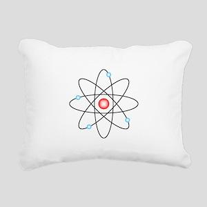 Atomic Rectangular Canvas Pillow