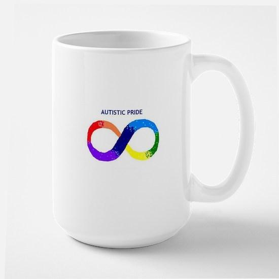 Autistic Pride Large Mug