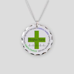 hospice nurse giving qulaity life 2 Necklace C