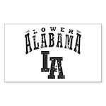 Lower Alabama Sticker (Rectangle 10 pk)
