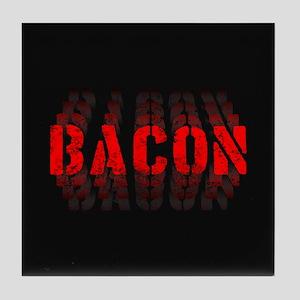 Bacon Fade Tile Coaster