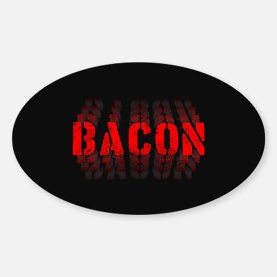 Bacon Fade Sticker (Oval)