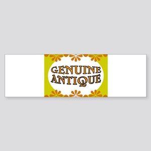 ANTIQUE STUFF Sticker (Bumper)
