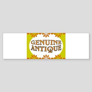 ANTIQUE STUFF Sticker (Bumper)