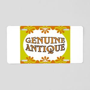 ANTIQUE STUFF Aluminum License Plate