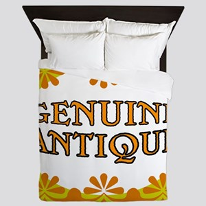 ANTIQUE STUFF Queen Duvet