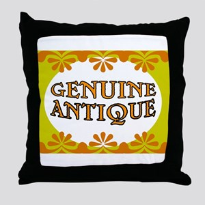 ANTIQUE STUFF Throw Pillow