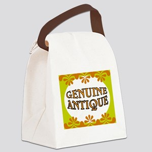 ANTIQUE STUFF Canvas Lunch Bag