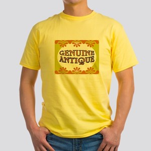 ANTIQUE STUFF Yellow T-Shirt