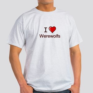I love werewolves Light T-Shirt