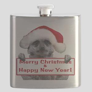 Helaine's Christmas Meerkat Flask