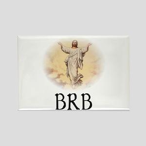Jesus BRB Rectangle Magnet (10 pack)