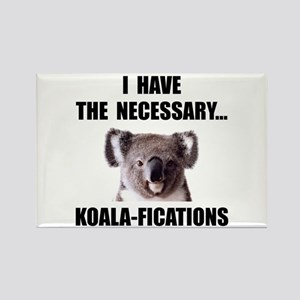 Koala Qualifications Rectangle Magnet (10 pack)