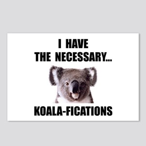 Koala Qualifications Postcards (Package of 8)