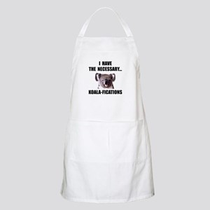 Koala Qualifications Apron
