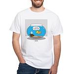 Fishbowl Treasure White T-Shirt