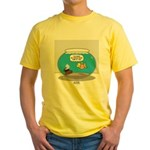 Fishbowl Treasure Yellow T-Shirt