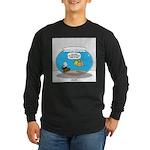 Fishbowl Treasure Long Sleeve Dark T-Shirt