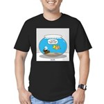 Fishbowl Treasure Men's Fitted T-Shirt (dark)