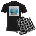 Fishbowl Treasure Men's Dark Pajamas