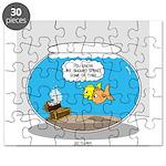 Fishbowl Treasure Puzzle