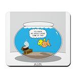Fishbowl Treasure Mousepad