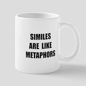 Similes Metaphors Mug