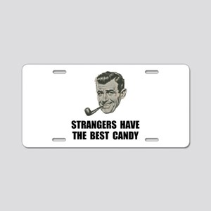 Strangers Best Candy Aluminum License Plate
