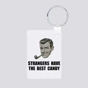 Strangers Best Candy Aluminum Photo Keychain