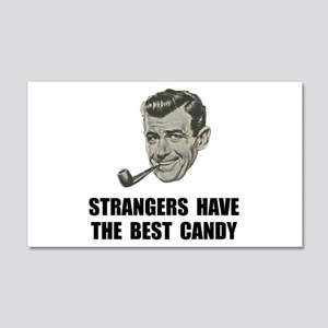 Strangers Best Candy 20x12 Wall Decal