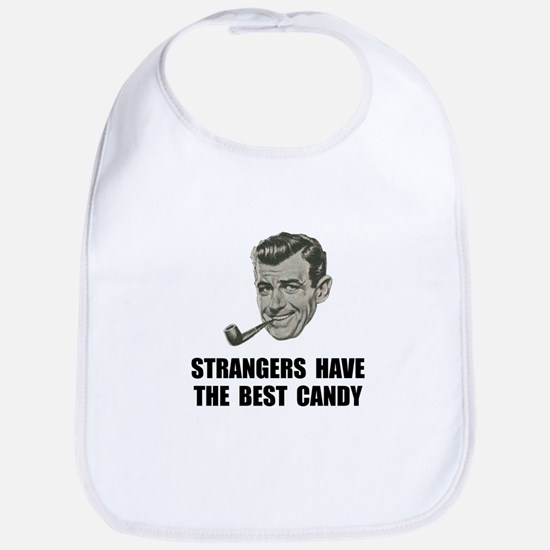 Strangers Best Candy Bib