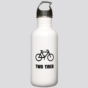 Two Tired Bike Stainless Water Bottle 1.0L