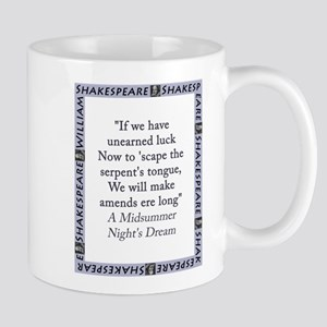 If We Have Unearned Luck 11 oz Ceramic Mug