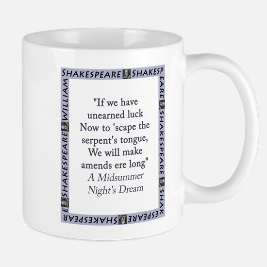 If We Have Unearned Luck Mug