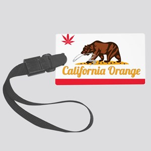 Smokin Ts California Orange Large Luggage Tag